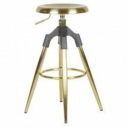Barová Židle Zlatá