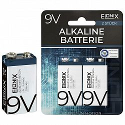Baterie Alkaline 9v, 2 V Bal.