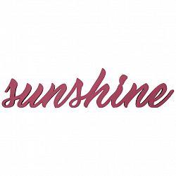 Dekorační Písmo Sunshine I