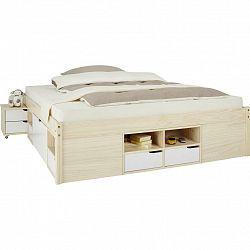 Dřevěná Postel Kiruna 160x200 Cm