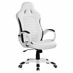 Herní Židle Racer Bílá