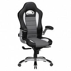 Herní Židle Racing Černá/šedá