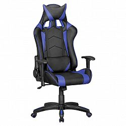 Herní Židle Score Černá/modrá