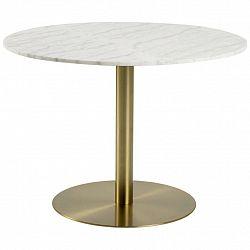 Jedálenský Stôl Corby Mramor 105x75 Cm