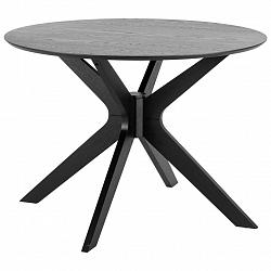 Jídelní Stůl Duncan Černá 100 Cm