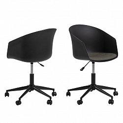 Kancelářská Židle Moon Černá