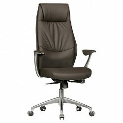 Kancelářská Židle Oxford 1 Hnědá Kůže