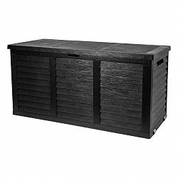 Kissenbox Hippo, 119/58/52cm, Antracit