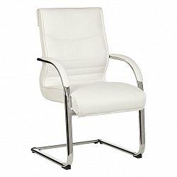 Konferenční Židle Milano Bílá