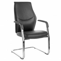 Konferenční Židle Oxford V Černé Kůži