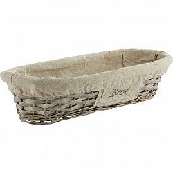 Košík Na Chléb Bahar, Š/v:17/39cm