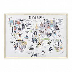 Obraz World Map Animal