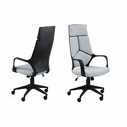 Otočná Kancelářská Židle Dubnium Šedá