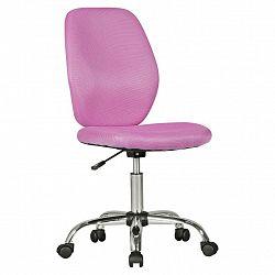 Otočná Židle Pro Dítě Emma Růžová