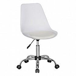 Otočná Židle Pro Dítě Korsika Bílá