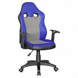 Otočná Židle Pro Dítě Speedy Modrá/šedá