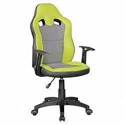 Otočná Židle Pro Dítě Speedy Šedá/zelená