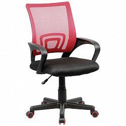 Otoční Židle Tinos Červeno-Černá
