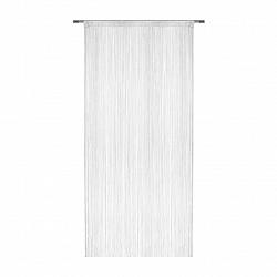 Provázková Záclona Franz, 90/245cm, Bílá
