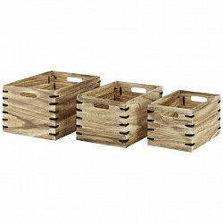 Sada Úložných Boxů Woody, 3dílná