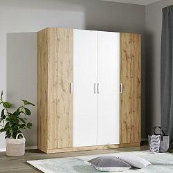 Šatní Skříň Unit 4 Dveře, Šířka Cca 182cm