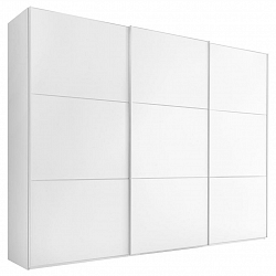 Skříň S Pos. Dveřmi.(hor.ved.) Includo 336 Cm Bílá