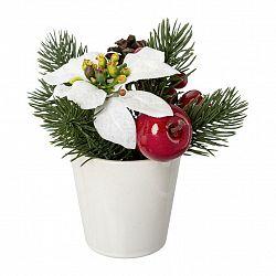 Umělá Rostlina Poinsettien-Apfel I