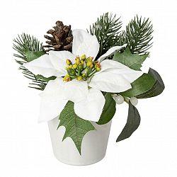 Umělá Rostlina Poinsettien-Zapfen I
