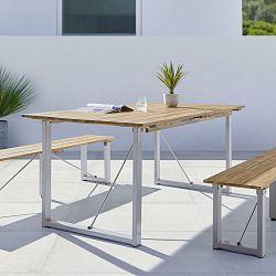 Záhradní Stůl Leonor 180x90 Cm Dřevo Akácie