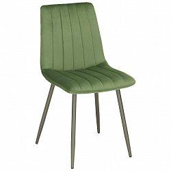 Židle Lisa Zelený Samet